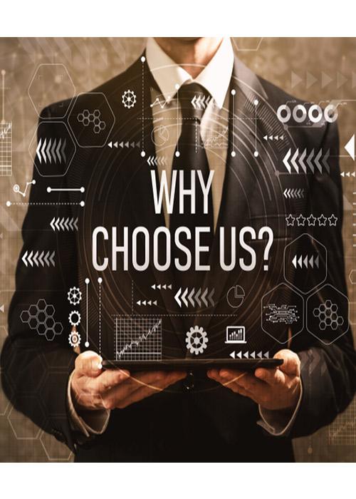 چرا باید ما را انتخاب کنید؟